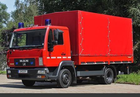 Gerätewagen Dekontamination - GW-Dekon
